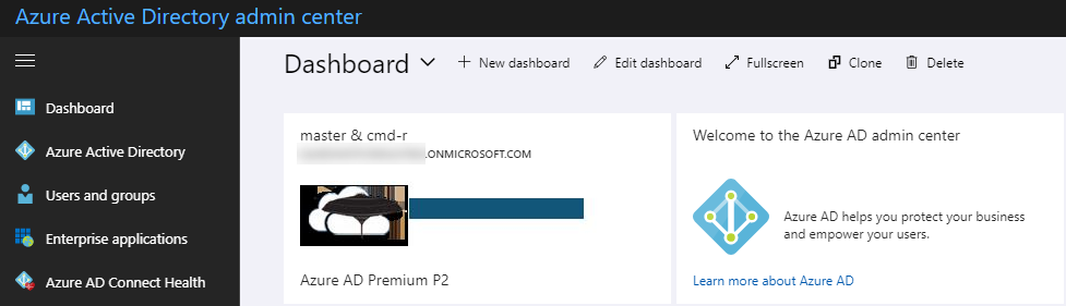 Oops! Access to Azure Active Directory is not available – Master & CmdR