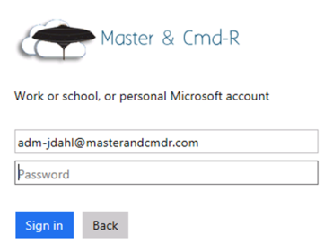 Office 2013 and Modern Auth – Master & CmdR